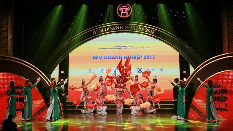 Đêm Doanh nghiệp 2017: Tôn vinh những đóng góp của cộng đồng doanh nghiệp Thủ đô