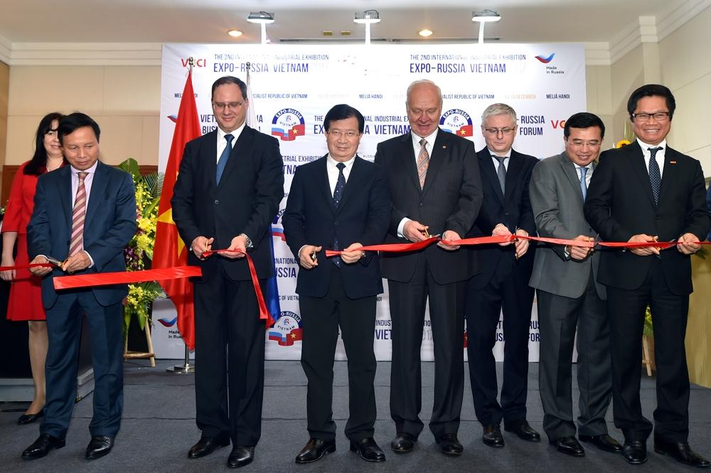 Nhiều cơ hội hợp tác cho doanh nghiệp Việt - Nga