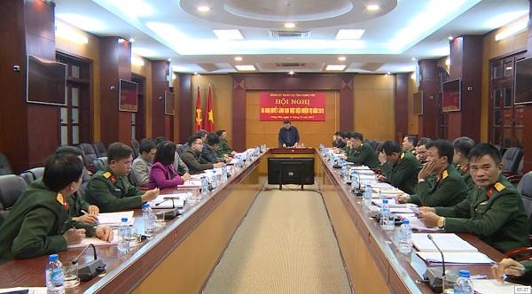 Đảng uỷ Quân sự Hưng Yên ra nghị quyết lãnh đạo thực hiện nhiệm vụ năm 2018