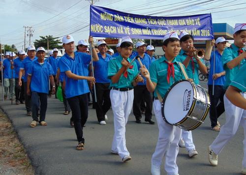 """Hiệu quả trong thực hiện Phong trào """"Vệ sinh yêu nước, nâng cao sức khỏe nhân dân"""" tại Tiền Giang"""