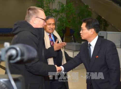 Phó Tổng Thư ký Liên hợp quốc hội đàm với Ngoại trưởng Triều Tiên