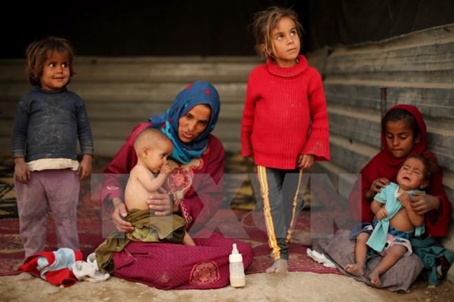 Liên hợp quốc phát động gây quỹ 4,4 tỷ USD để hỗ trợ người tị nạn Syria