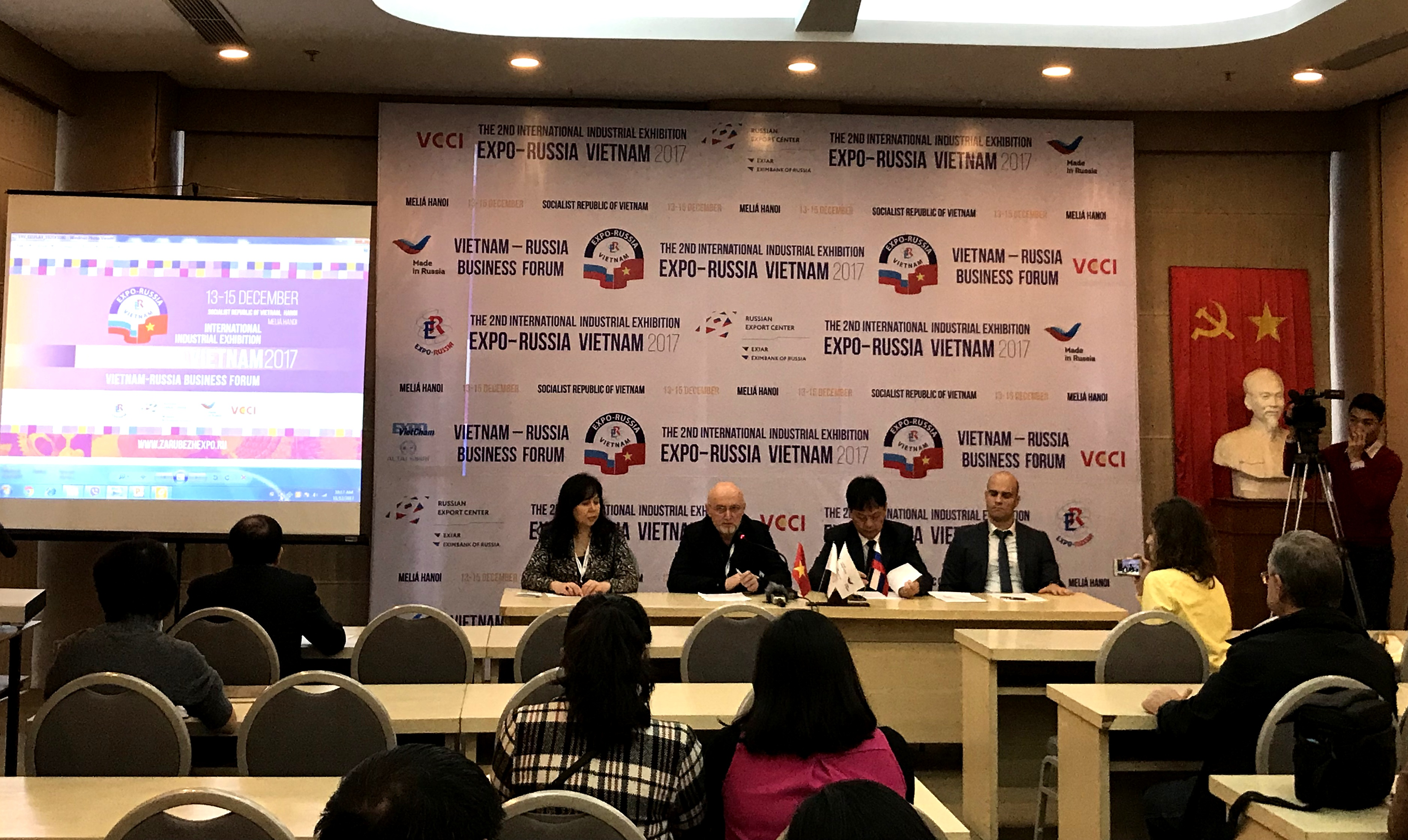 Triển lãm công nghiệp quốc tế Nga - Việt: Cơ hội hợp tác đầu tư cho doanh nghiệp 2 nước