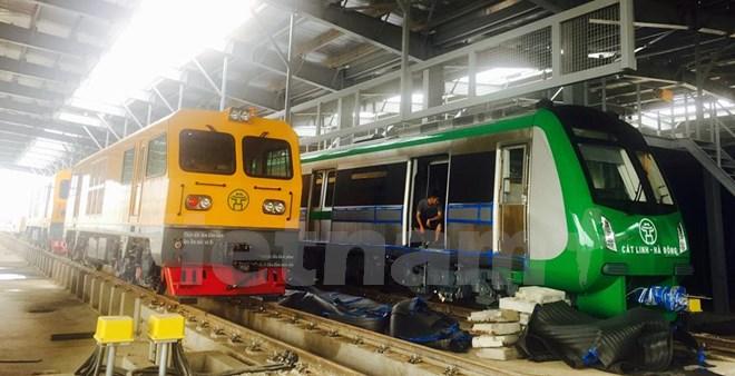 Đường sắt Cát Linh-Hà Đông vận hành chạy thử vào tháng 9/2018