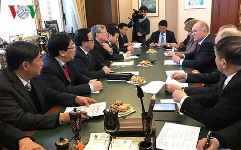 Việt Nam luôn coi trọng quan hệ đối tác chiến lược toàn diện với Liên bang Nga
