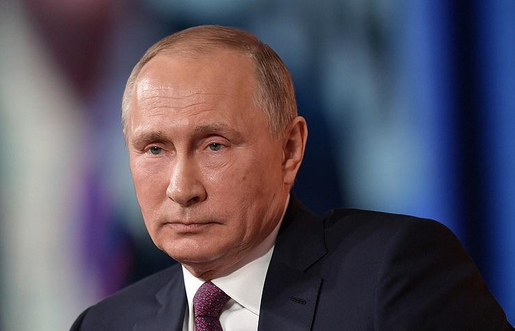 Trang web vận động tranh cử của Tổng thống Nga V. Putin chính thức hoạt động