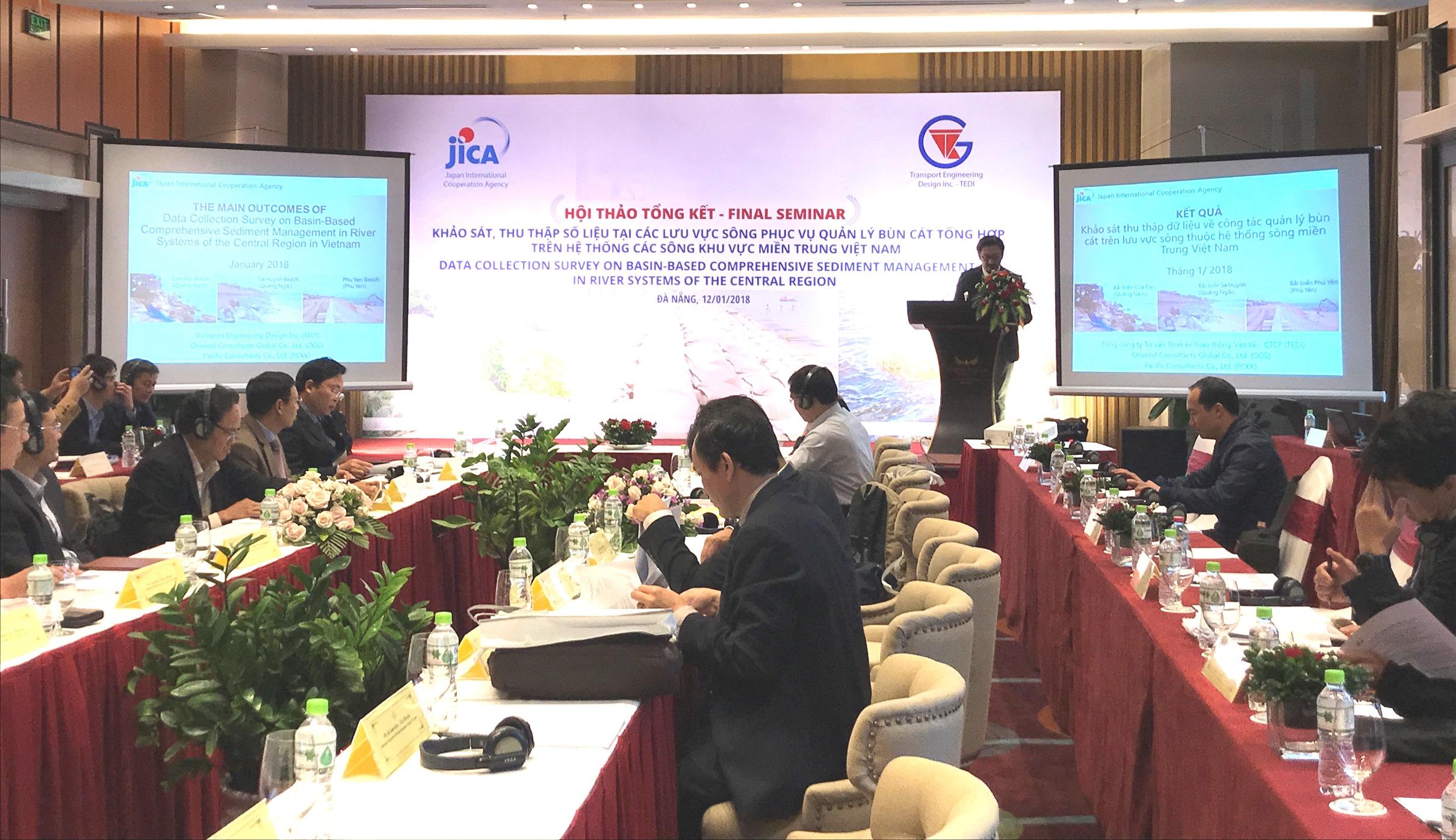 Cơ quan Hợp tác Quốc tế Nhật Bản chia sẻ kết quả khảo sát về quản lý bùn đất tổng hợp