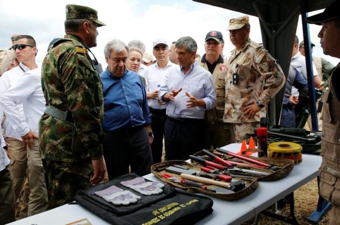 Liên hợp quốc tái khẳng định cam kết hỗ trợ tiến trình hòa bình tại Colombia