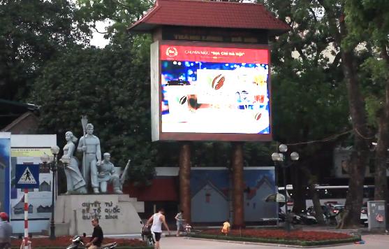 Hà Nội yêu cầu tháo dỡ đồng hồ đếm ngược khỏi đền Bà Kiệu