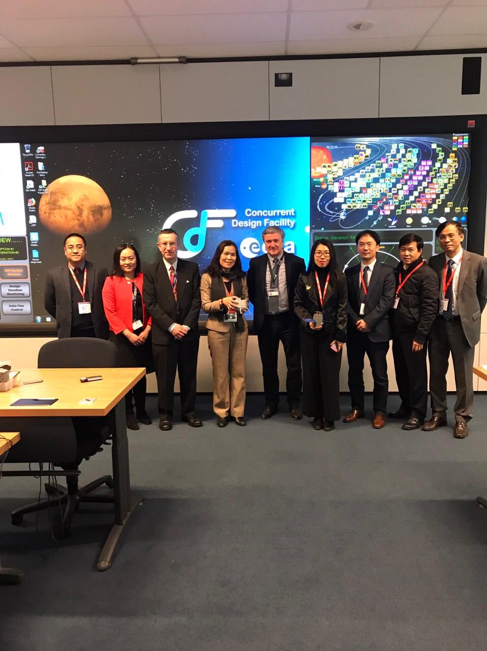 Việt Nam rất chú trọng đến hợp tác về công nghệ vũ trụ