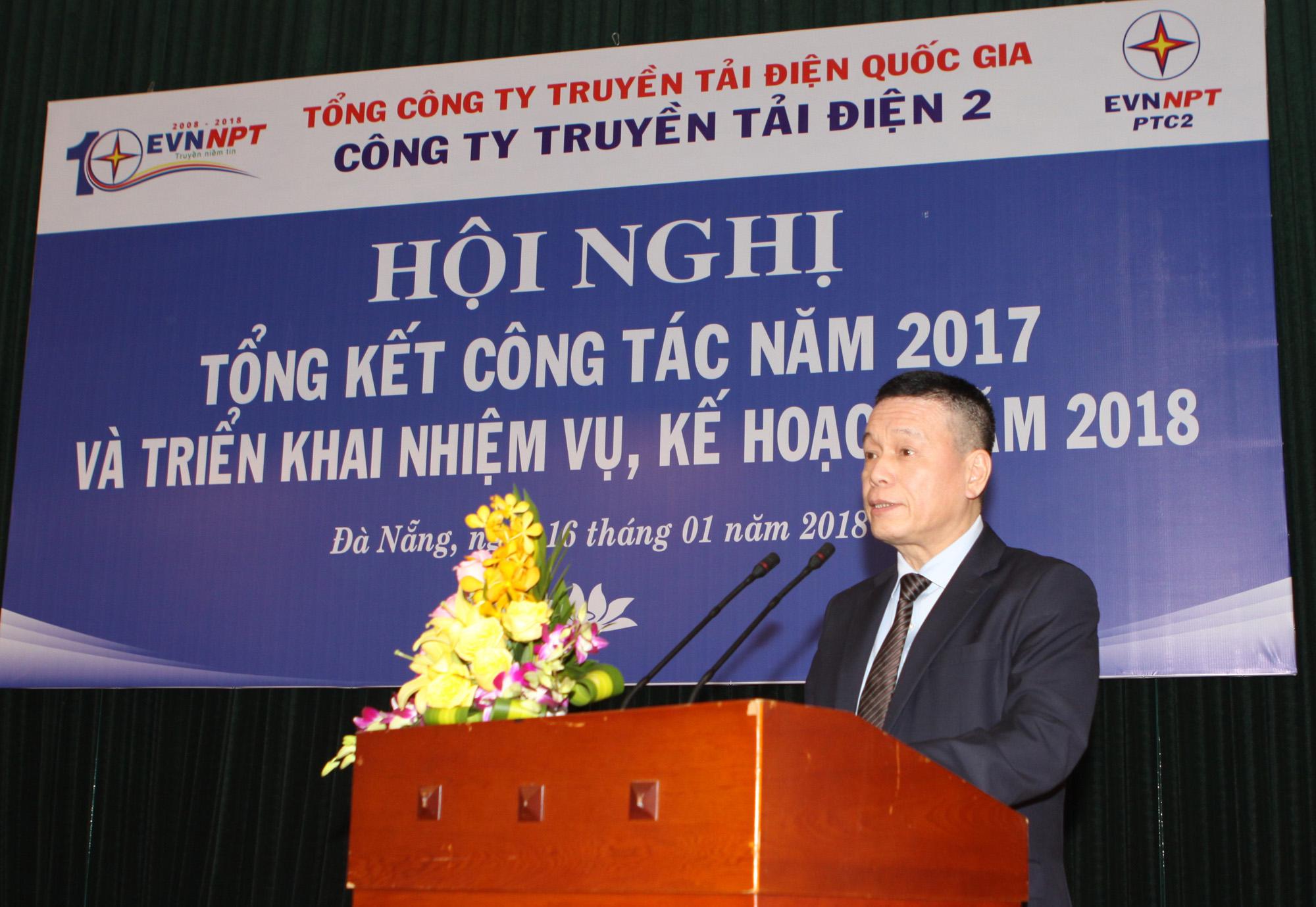 Công ty Truyền tải điện 2 triển khai nhiệm vụ kế hoạch năm 2018
