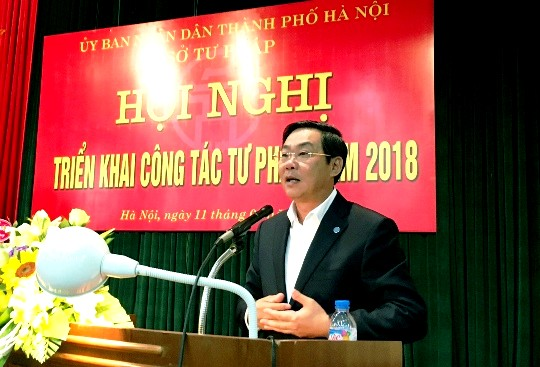 Hà Nội: Công tác tư pháp tập trung vào vấn đề nóng ở cơ sở