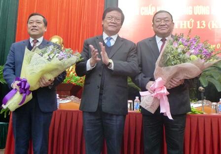 Đồng chí Thào Xuân Sùng được bầu giữ chức Chủ tịch Hội Nông dân Việt Nam  