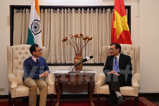 Quan hệ Việt - Ấn chiếm vị trí quan trọng hàng đầu trong mối quan hệ Ấn Độ với ASEAN