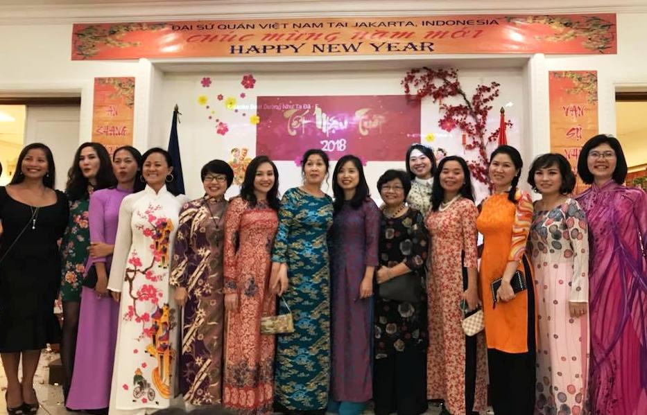 Đại sứ quán Việt Nam tại Indonesia tổ chức Tết Cộng đồng đón Xuân Mậu Tuất