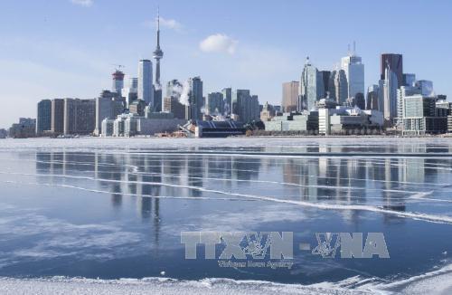 Canada: Mưa băng gây tê liệt hoạt động giao thông ở miền Nam Quebec