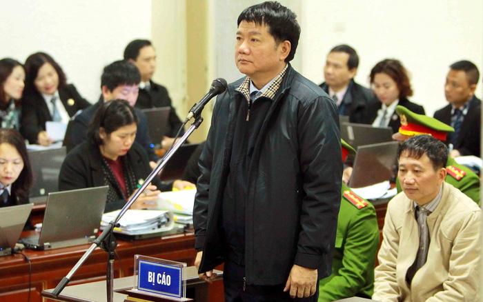 Đề xuất mức án dành cho bị cáo Đinh La Thăng và các đồng phạm