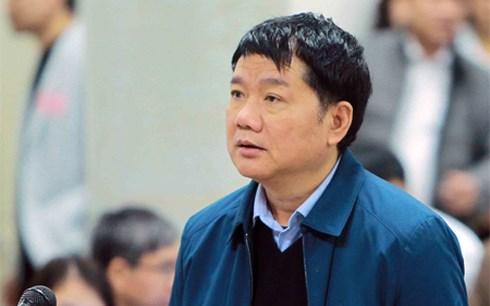 Bị cáo Đinh La Thăng thừa nhận có sai sót