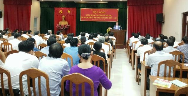 Hội nghị Báo cáo viên các tỉnh, thành phố phía Nam, các cơ quan, đảng ủy trực thuộc Trung ương