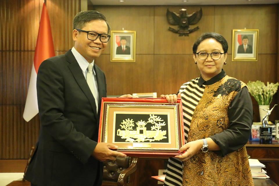Quan hệ tốt đẹp Việt Nam – Indonesia tiếp tục đóng góp vào sự ổn định và hòa bình của ASEAN