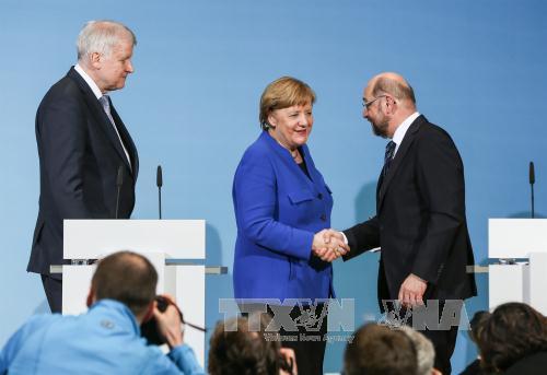 Đàm phán thành lập chính phủ tại Đức: Đại diện người lao động kêu gọi SPD ủng hộ thỏa thuận liên minh