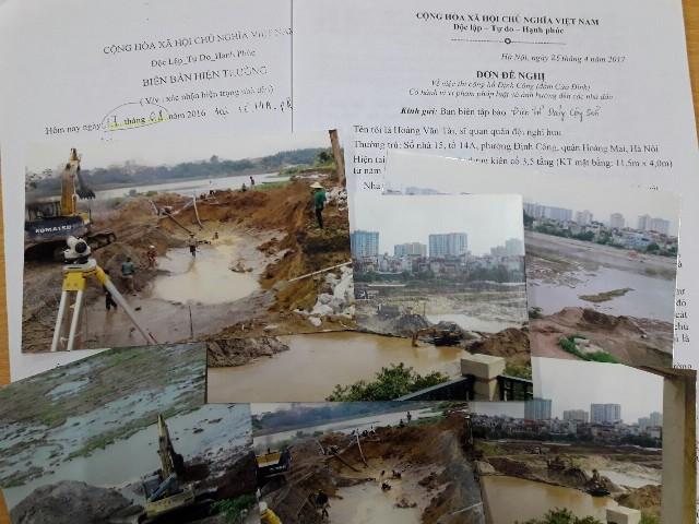 Hoàng Mai: Cần sớm làm rõ nguyên nhân nhiều ngôi nhà xung quanh hồ Định Công bị lún, nứt