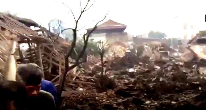 Bắc Ninh: Nổ kho phế liệu ở Văn Môn gây nhiều thiệt hại