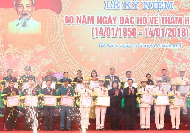 Hà Nam kỷ niệm 60 năm ngày Bác Hồ về thăm