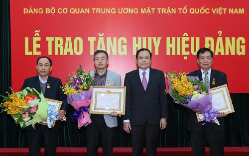 Đảng bộ cơ quan Uỷ ban Trung ương MTTQ Việt Nam triển khai nhiệm vụ năm 2018