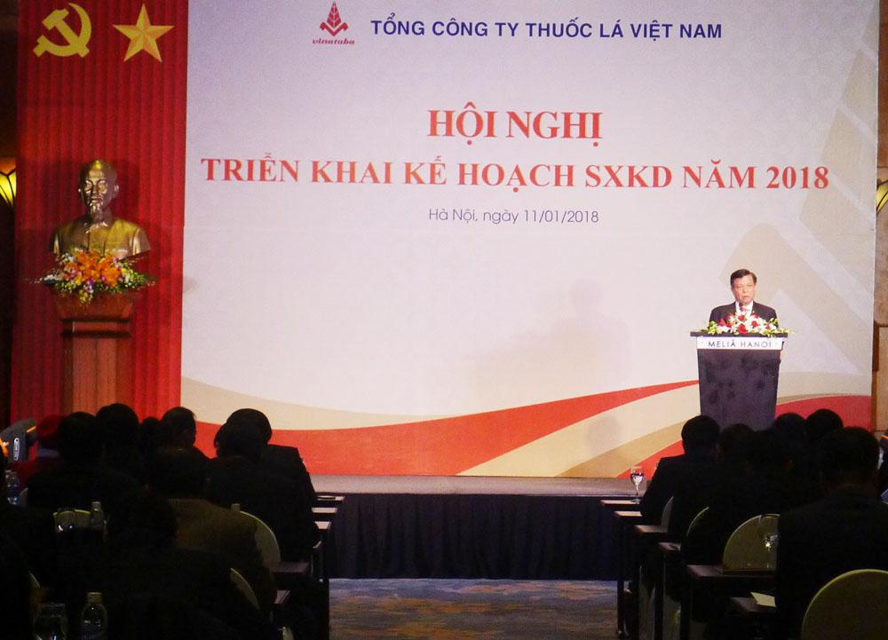 Tổng Công ty thuốc lá Việt Nam triển khai nhiệm vụ năm 2018