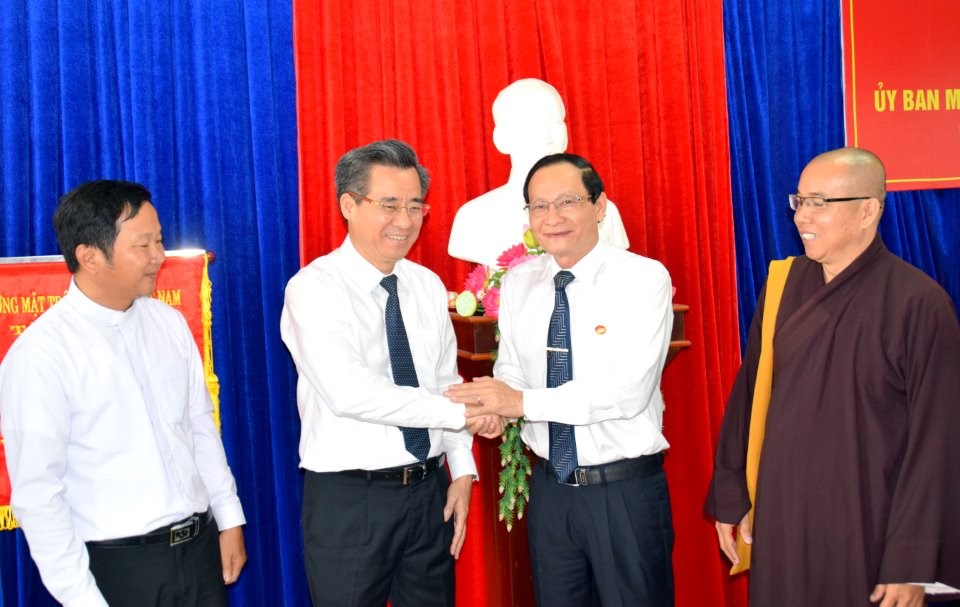 Bí thư Tỉnh ủy - Nguyễn Quang Dương: Công tác mặt trận có vai trò quan trọng trong thực hiện nhiệm vụ chính trị của Đảng bộ tỉnh