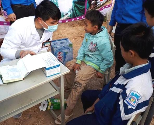 Cán bộ trẻ tình nguyện vì cộng đồng