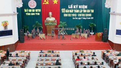 Kon Tum: Kỷ niệm 105 năm ngày thành lập tỉnh  