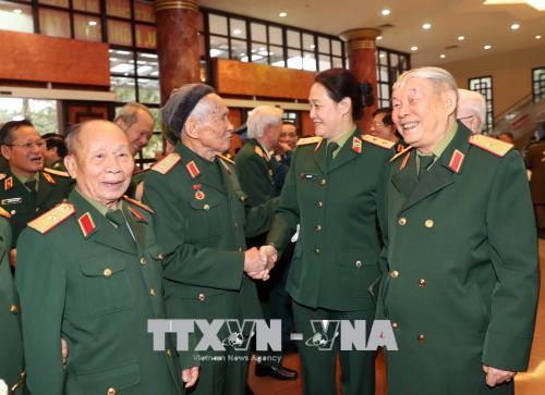 Quân ủy Trung ương, Bộ Quốc phòng gặp mặt đại biểu cán bộ cao cấp Quân đội nghỉ hưu khu vực phía Bắc