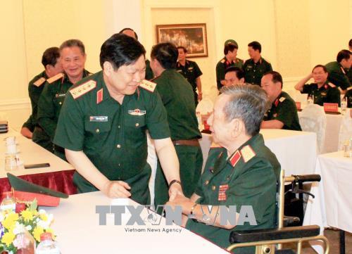 Quân ủy Trung ương, Bộ Quốc phòng gặp mặt đại biểu cán bộ cao cấp Quân đội nghỉ hưu, nghỉ công tác khu vực phía Nam