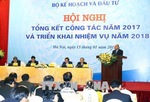 Thủ tướng: Bộ Kế hoạch và Đầu tư phải là nhạc trưởng trong điều phối vĩ mô