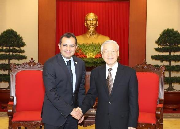 Không ngừng củng cố và tăng cường quan hệ hữu nghị, hợp tác Việt Nam - Mê-hi-cô
