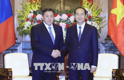 Quan hệ hợp tác Việt Nam - Mông Cổ đã có những bước phát triển mới