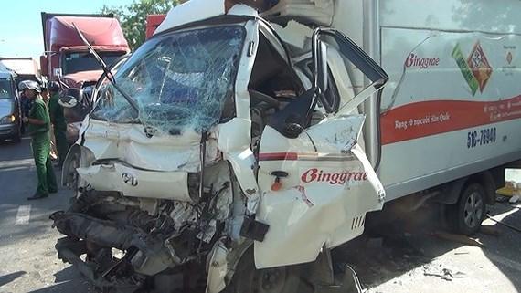 3 ngày nghỉ Tết dương lịch, cả nước xảy ra 124 vụ tai nạn giao thông