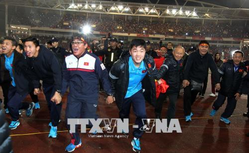 Lễ vinh danh Đội tuyển U23 Việt Nam tại Sân vận động Quốc gia Mỹ Đình