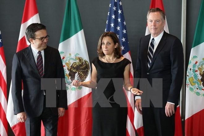 Vòng tái đàm phán NAFTA thứ 6 kéo dài hơn dự kiến