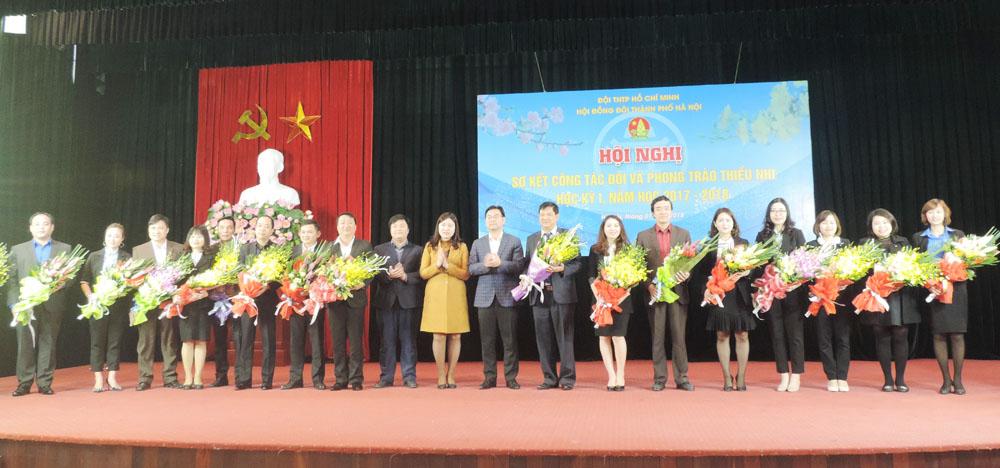 Ra mắt Hội đồng Đội Thành phố Hà Nội khóa XV, nhiệm kỳ 2017 - 2022
