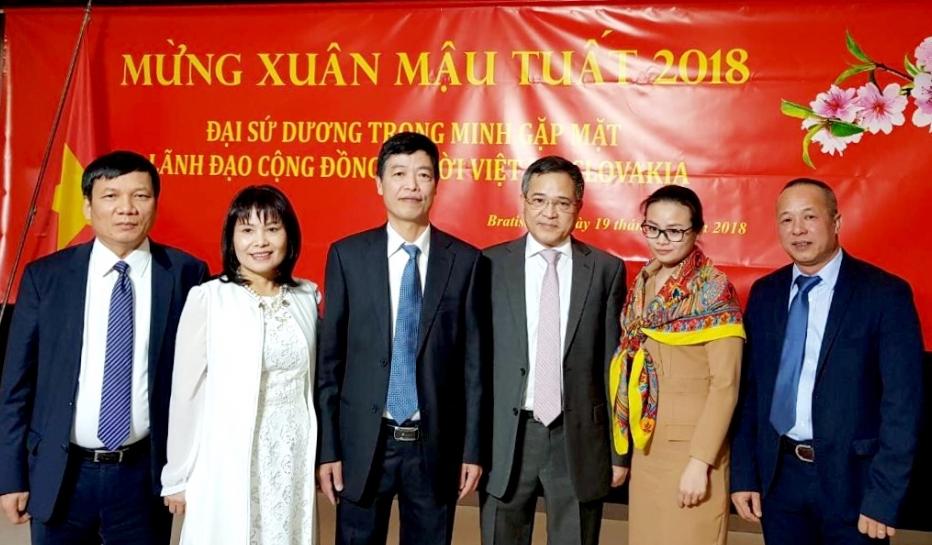 Cộng đồng người Việt Nam tại Slovakia luôn hướng về quê hương, đất nước