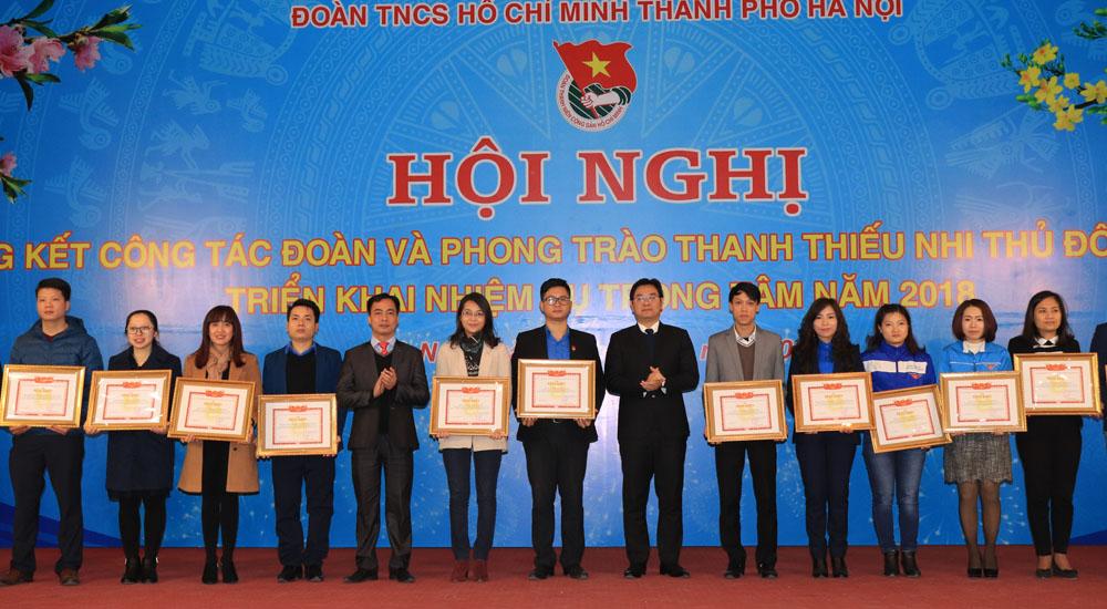 Năm 2018, Thành đoàn Hà Nội tập trung hỗ trợ thanh niên khởi nghiệp