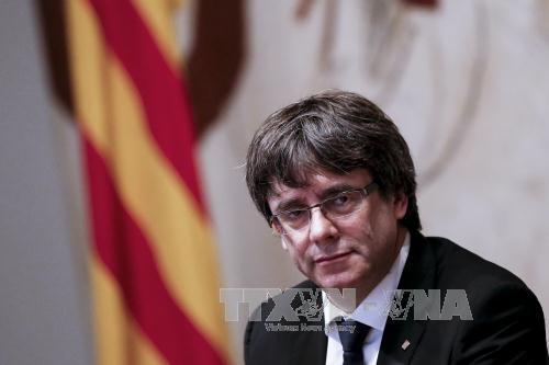 Tây Ban Nha: Các đảng ly khai ủng hộ ông Puigdemont ứng cử thủ hiến vùng Catalonia