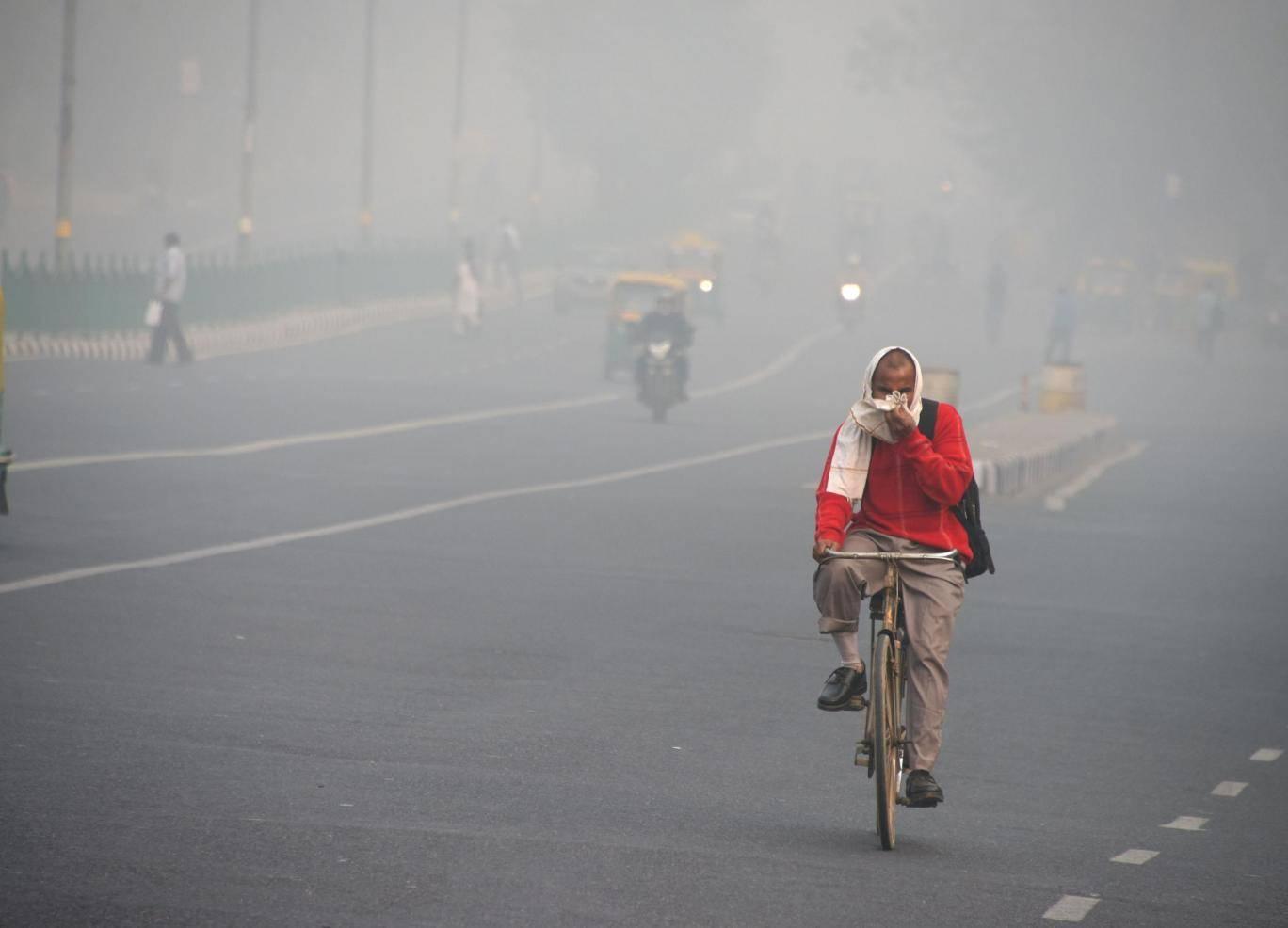 Thủ đô New Delhi là thành phố ô nhiễm nhất Ấn Độ