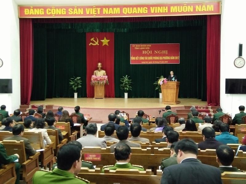 Lạng Sơn tiếp tục chú trọng thực hiện hiệu quả nhiệm vụ quốc phòng địa phương