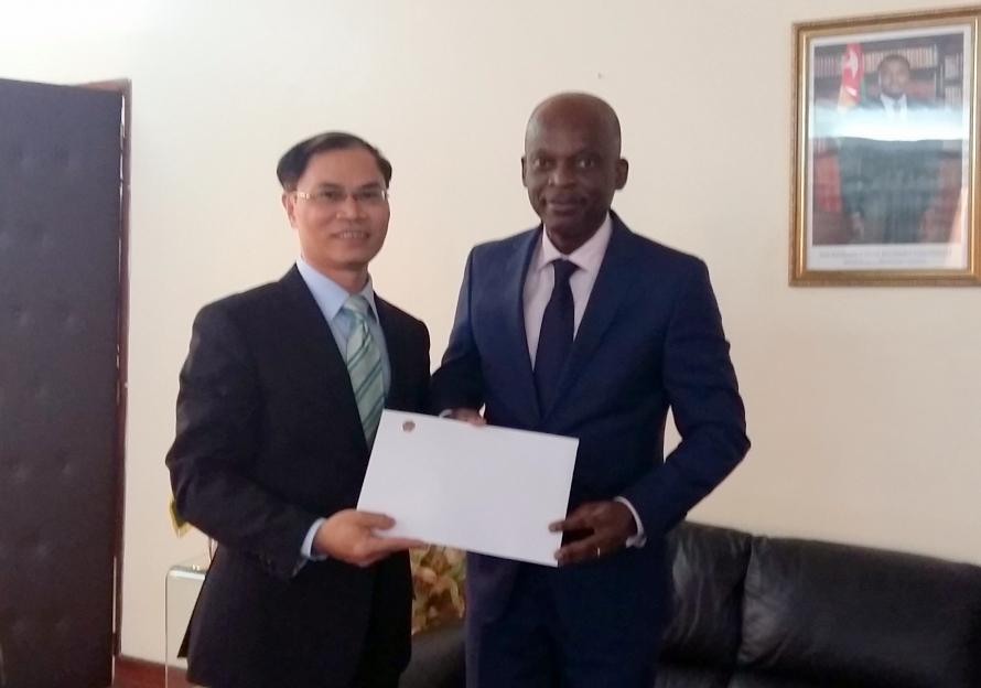 Togo mong muốn thúc đẩy quan hệ hợp tác trên mọi lĩnh vực với Việt Nam