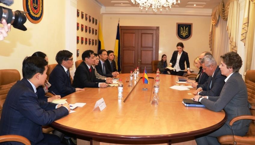 Tăng cường quan hệ hợp tác giữa Việt Nam và tỉnh Odessa (Ukraine)