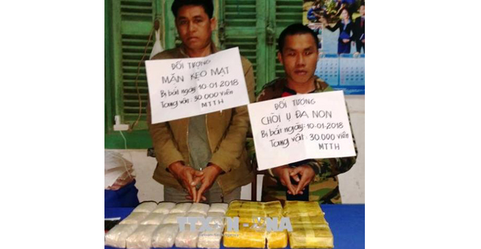 Triệt phá thành công đường dây vận chuyển, mua bán ma túy tại Quảng Bình